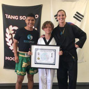 tang soo do black belt