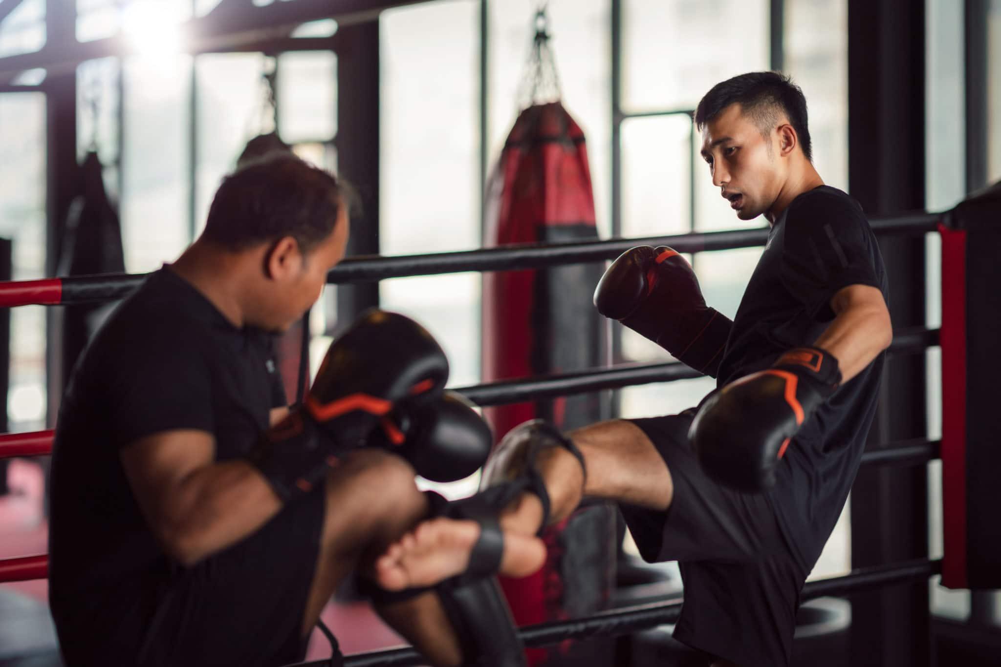 muay thai training, health and fitness